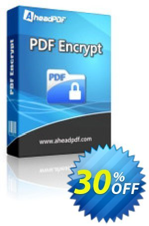 Ahead PDF Encrypt Coupon, discount Ahead PDF Encrypt - Single-User License exclusive promotions code 2021. Promotion: exclusive promotions code of Ahead PDF Encrypt - Single-User License 2021