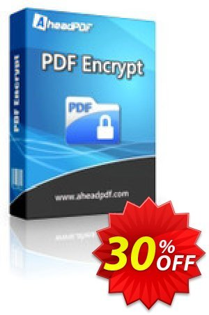 Ahead PDF Encrypt - Multi-User License (5 Users) 프로모션 코드 Ahead PDF Encrypt - Multi-User License (Up to 5 Users) wonderful deals code 2020 프로모션: wonderful deals code of Ahead PDF Encrypt - Multi-User License (Up to 5 Users) 2020