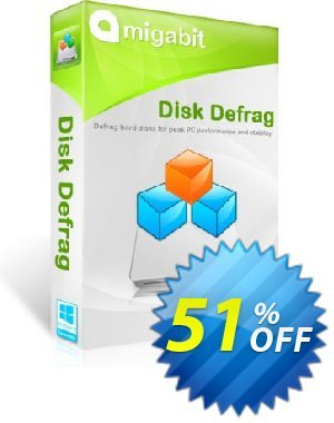 Amigabit Disk Defrag Coupon, discount Save $10. Promotion: stunning sales code of Amigabit Disk Defrag 2019