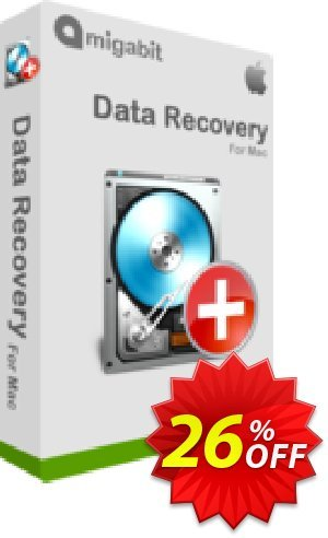 Get Amigabit Data Recovery for Mac 26% OFF coupon code