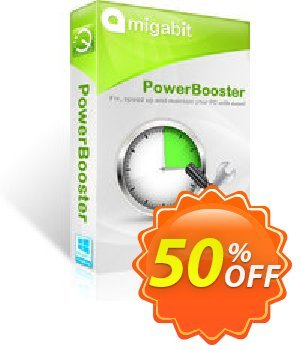 Amigabit PowerBooster Coupon discount 50% Off. Promotion: wonderful offer code of Amigabit PowerBooster 2020