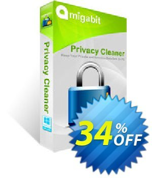Amigabit Privacy Cleaner Coupon, discount Save $10. Promotion: exclusive discounts code of Amigabit Privacy Cleaner 2019