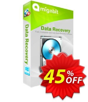 Amigabit Data Recovery Coupon, discount 45% Off. Promotion: wonderful sales code of Amigabit Data Recovery 2019