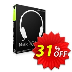 Music DVD Creator 優惠券,折扣碼 Holiday Discount: $12 OFF,促銷代碼: hottest offer code of Music DVD Creator 2019