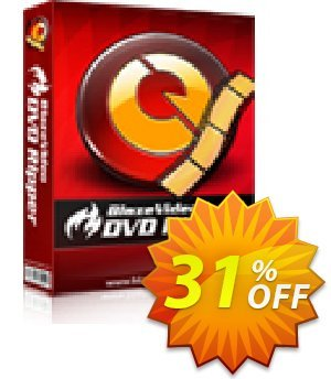 BlazeVideo DVD Ripper 프로모션 코드 Holiday Discount: $12 OFF 프로모션: special discount code of BlazeVideo DVD Ripper 2020
