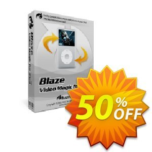 BlazeVideo iPod Video Converter Coupon discount Save 50% Off - wondrous sales code of BlazeVideo iPod Video Converter 2019