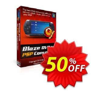 BlazeVideo DVD to PSP Converter 優惠券,折扣碼 Save 50% Off,促銷代碼: amazing discounts code of BlazeVideo DVD to PSP Converter 2020
