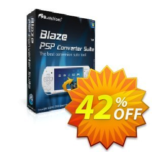 BlazeVideo PSP Converter Suite Coupon, discount Save 42% Off. Promotion: stunning promotions code of BlazeVideo PSP Converter Suite 2019