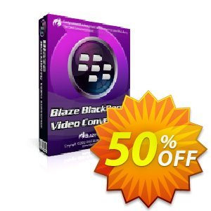 BlazeVideo BlackBerry Video Converter discount coupon Save 50% Off - staggering sales code of BlazeVideo BlackBerry Video Converter 2020