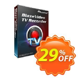 BlazeVideo TV Recorder Coupon discount Holiday Discount: $20 OFF - big discount code of BlazeVideo TV Recorder 2020