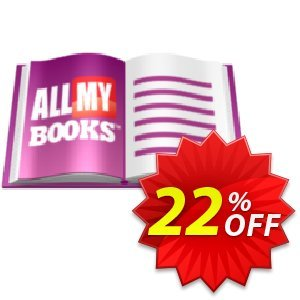All My Books Coupon, discount ANTIVIRUS OFFER. Promotion: awesome discount code of All My Books 2021