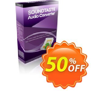 SoundTaste Audio Converter Coupon, discount SoundTaste Audio Converter hottest offer code 2019. Promotion: hottest offer code of SoundTaste Audio Converter 2019