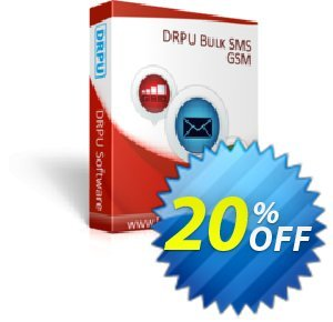 DRPU Bulk SMS Software for GSM Mobile Phones discount coupon Avangate Affiliates network discount - formidable sales code of DRPU Bulk SMS Software for GSM Mobile Phones 2020