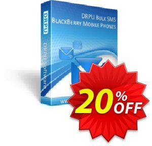 DRPU Bulk SMS Software for BlackBerry discount coupon softwarecoupons.com Offer - marvelous sales code of DRPU Bulk SMS Software for BlackBerry 2020
