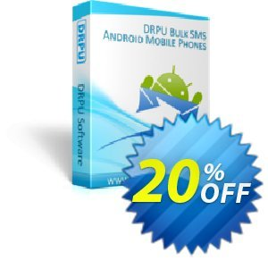 DRPU Bulk SMS Software for Android Mobile Phones discount coupon softwarecoupons.com Offer - excellent discounts code of DRPU Bulk SMS Software for Android Mobile Phones 2020