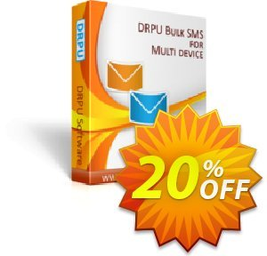 DRPU Bulk SMS Software (Multi-Device Edition) discount coupon softwarecoupons.com Offer - awesome promotions code of DRPU Bulk SMS Software (Multi-Device Edition) 2020