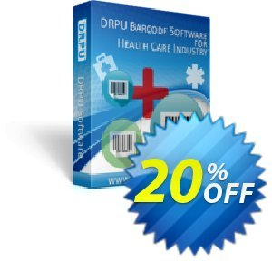 DRPU Healthcare Industry Barcode Label Maker Software discount coupon softwarecoupons.com Offer - big offer code of DRPU Healthcare Industry Barcode Label Maker Software 2020