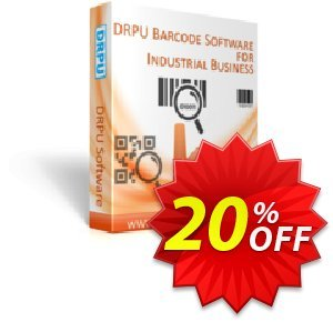 DRPU Industrial Manufacturing and Warehousing Barcode Generator Coupon discount softwarecoupons.com Offer - exclusive discounts code of DRPU Industrial Manufacturing and Warehousing Barcode Generator 2020