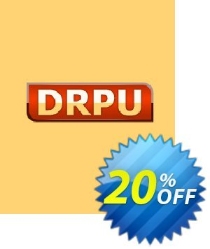 DRPU Barcode Maker software - Corporate Edition - 10 PC License产品销售 softwarecoupons.com Offer
