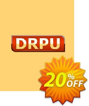 DRPU Barcode Maker software - Corporate Edition - 15 PC License产品销售 softwarecoupons.com Offer