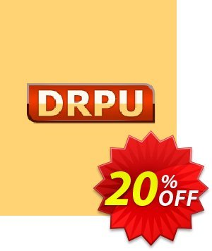 DRPU Barcode Maker software - Corporate Edition - 20 PC License Coupon discount softwarecoupons.com Offer - fearsome offer code of DRPU Barcode Maker software - Corporate Edition - 20 PC License 2020