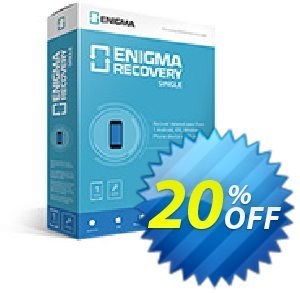 Get Enigma Recovery Single (Lifetime) 20% OFF coupon code