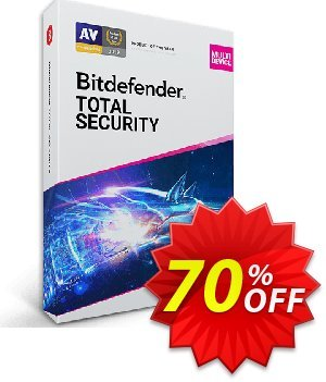 Bitdefender Total Security 2019 Multi-Device, 2 years - 3 device offering sales