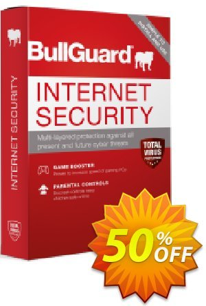 BullGuard 2018 Internet Security Coupon, discount BullGuard 2018 Internet Security 1-Year 3-PCs at USD$39.95 awful discounts code 2019. Promotion: awful discounts code of BullGuard 2018 Internet Security 1-Year 3-PCs at USD$39.95 2019