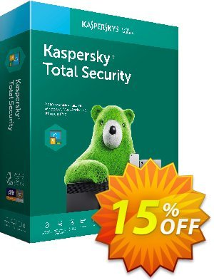 Kaspersky Total Security Coupon, discount Kaspersky Total Security imposing offer code 2019. Promotion: imposing offer code of Kaspersky Total Security 2019