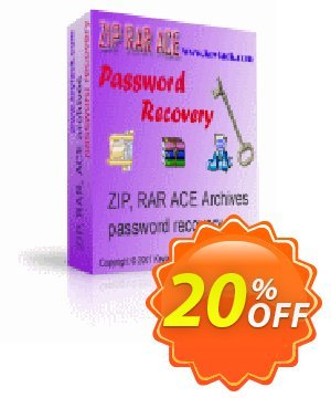 ZIP RAR ACE Password Recovery Coupon, discount ZIP RAR ACE Password Recovery big discount code 2019. Promotion: big discount code of ZIP RAR ACE Password Recovery 2019