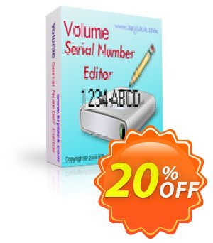 Volume Serial Number Editor UNLIMITED License Coupon, discount Volume Serial Number Editor UNLIMITED License fearsome discount code 2019. Promotion: fearsome discount code of Volume Serial Number Editor UNLIMITED License 2019