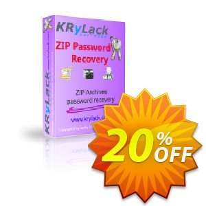 KRyLack ZIP Password Recovery Coupon, discount KRyLack ZIP Password Recovery special promotions code 2019. Promotion: special promotions code of KRyLack ZIP Password Recovery 2019
