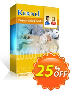 Kernel Computer Activity Monitor (5 Employees) discount coupon 25% OFF Kernel Computer Activity Monitor (5 Employees), verified - Staggering deals code of Kernel Computer Activity Monitor (5 Employees), tested & approved