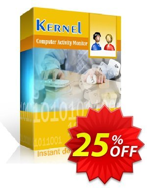 Kernel Computer Activity Monitor (2 Employees) discount coupon 25% OFF Kernel Computer Activity Monitor, verified - Staggering deals code of Kernel Computer Activity Monitor, tested & approved