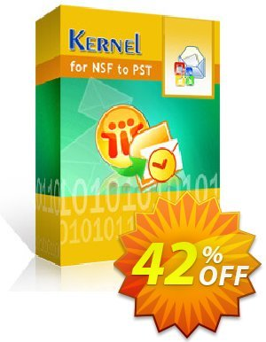 Kernel for Lotus Notes to Outlook (500 NSF Files) discount coupon 30% OFF Kernel for Lotus Notes to Outlook (500 NSF Files), verified - Staggering deals code of Kernel for Lotus Notes to Outlook (500 NSF Files), tested & approved
