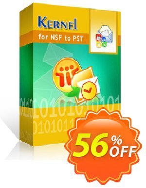 Kernel for Lotus Notes to Outlook (25 NSF Files) discount coupon 30% OFF Kernel for Lotus Notes to Outlook (25 NSF Files), verified - Staggering deals code of Kernel for Lotus Notes to Outlook (25 NSF Files), tested & approved