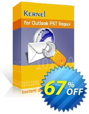 Kernel for Outlook PST Recovery - Home License Coupon, discount Kernel for Outlook PST Recovery - Home License excellent discounts code 2020. Promotion: excellent discounts code of Kernel for Outlook PST Recovery - Home License 2020