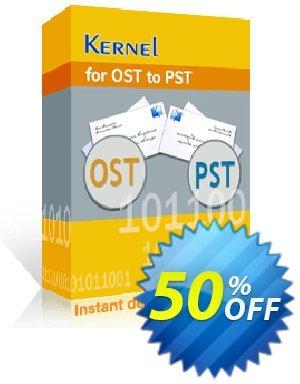 Kernel for OST to PST (Corporate License) Coupon, discount Kernel for OST to PST Conversion - Corporate License awful deals code 2020. Promotion: awful deals code of Kernel for OST to PST Conversion - Corporate License 2020