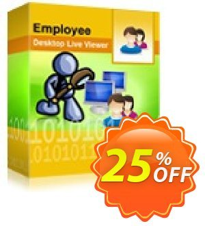 Employee Desktop Live Viewer -  3 Users License Pack discount coupon Employee Desktop Live Viewer -  3 Users License Pack fearsome sales code 2021 - fearsome sales code of Employee Desktop Live Viewer -  3 Users License Pack 2021