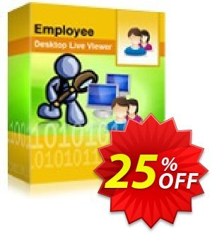 Employee Desktop Live Viewer -  20 Users License Pack Coupon, discount Employee Desktop Live Viewer -  20 Users License Pack marvelous discount code 2020. Promotion: marvelous discount code of Employee Desktop Live Viewer -  20 Users License Pack 2020
