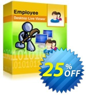 Employee Desktop Live Viewer -  100 Users License Pack Coupon, discount Employee Desktop Live Viewer -  100 Users License Pack wondrous promo code 2020. Promotion: wondrous promo code of Employee Desktop Live Viewer -  100 Users License Pack 2020