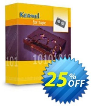 Kernel for Tape Data Recovery (Technician) Coupon, discount Kernel Recovery for Tape  - Technician License imposing discounts code 2020. Promotion: imposing discounts code of Kernel Recovery for Tape  - Technician License 2020
