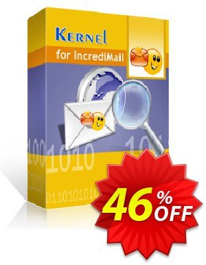 Kernel for IncrediMail Recovery 프로모션 코드 Kernel Recovery for IncrediMail - Home License staggering deals code 2021 프로모션: staggering deals code of Kernel Recovery for IncrediMail - Home License 2021