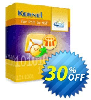 Kernel for PST to NSF Conversion - Corporate License discount coupon Kernel for PST to NSF Conversion - Corporate License dreaded sales code 2020 - dreaded sales code of Kernel for PST to NSF Conversion - Corporate License 2020