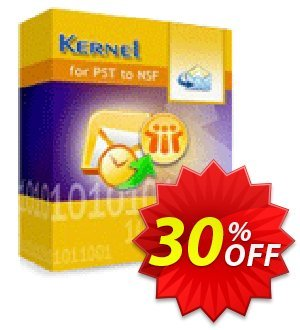 Kernel for PST to NSF Conversion - Technician License discount coupon Kernel for PST to NSF Conversion - Technician License excellent deals code 2020 - excellent deals code of Kernel for PST to NSF Conversion - Technician License 2020