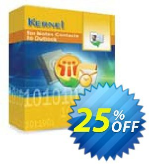 Kernel for Notes Contacts to Outlook - Technician License 優惠券,折扣碼 Kernel for Notes Contacts to Outlook - Technician License wondrous discount code 2019,促銷代碼: wondrous discount code of Kernel for Notes Contacts to Outlook - Technician License 2019