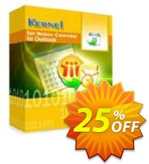 Kernel for Notes Calendar to Outlook - Technician License discount coupon Kernel for Notes Calendar to Outlook - Technician License amazing deals code 2020 - amazing deals code of Kernel for Notes Calendar to Outlook - Technician License 2020
