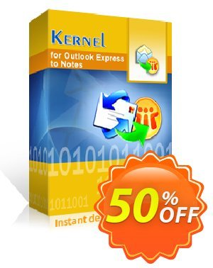 Kernel for Outlook Express to Notes - Technician License Coupon, discount Kernel for Outlook Express to Notes - Technician License stirring discounts code 2020. Promotion: stirring discounts code of Kernel for Outlook Express to Notes - Technician License 2020