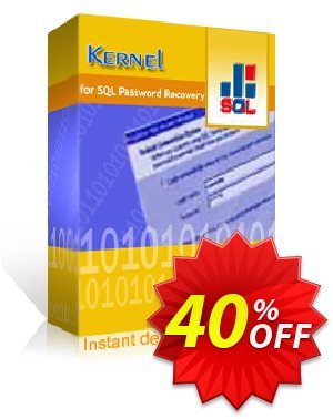 Kernel SQL Password Recovery - Technician License discount coupon Kernel SQL Password Recovery - Technician License special discounts code 2020 - special discounts code of Kernel SQL Password Recovery - Technician License 2020