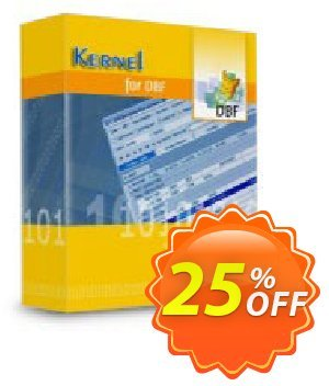 Kernel for DBF Database Repair Coupon, discount Kernel Recovery for DBF - Home License amazing offer code 2020. Promotion: amazing offer code of Kernel Recovery for DBF - Home License 2020